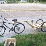 How To Make A Bike Trailer For Less Than $10