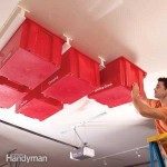 Create Extra Safe Storage With This Sliding System On the Garage or Basement Ceiling