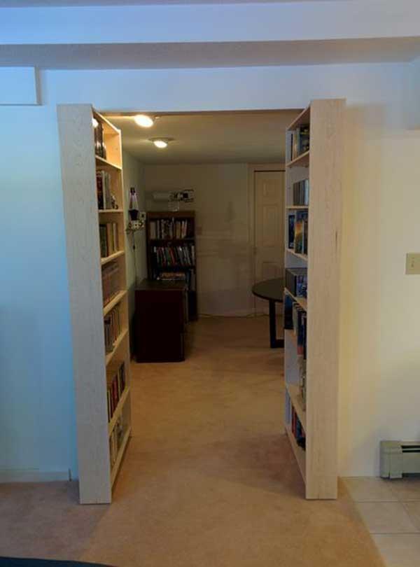 Diy Hidden Bookcase Door Updated The Prepared Page