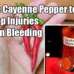 How To Use Cayenne Pepper To Stop Injuries From Bleeding