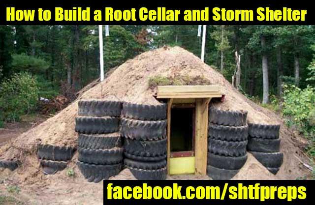Shtf Shelter: DIY Root Cellar And Storm Shelter