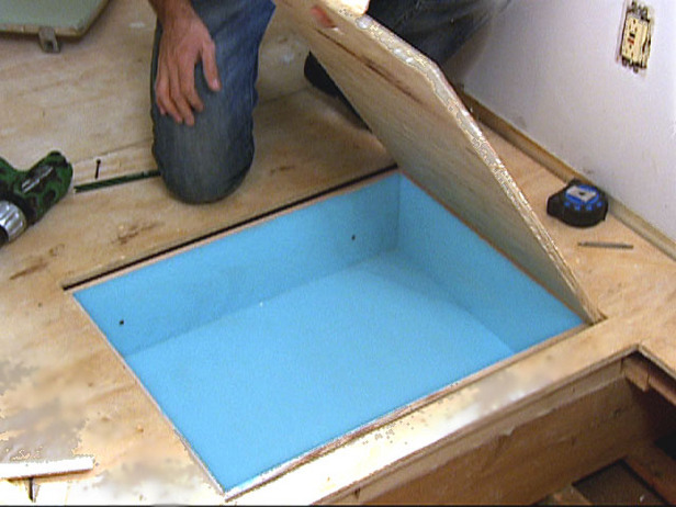 Diy Hidden Floor Storage The Prepared Page
