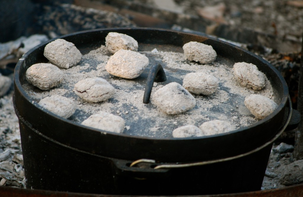 500 camp fire dutch oven recipes the prepared page for Cast iron skillet camping dessert recipes