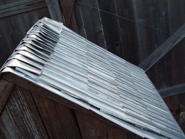 Shingles Amp Siding From Soda Or Beer Cans The Prepared Page