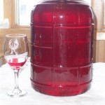 Homemade Beet Wine
