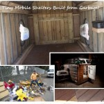 Tiny Mobile Shelters Built from Garbage!