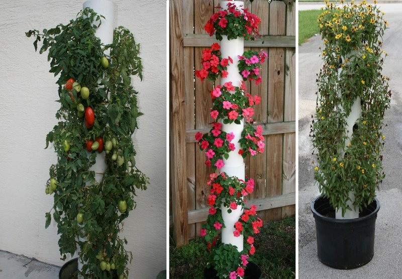 How To Make A Vertical Planter Part - 20: How To Make Your Own Vertical Planter