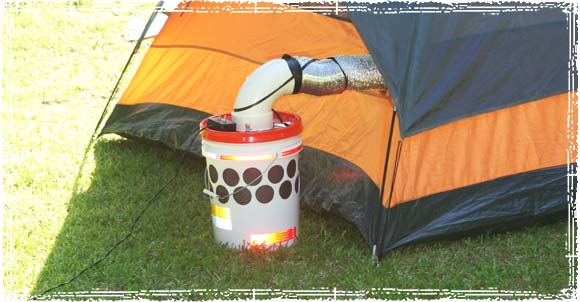 Diy Bucket Air Cooler For Camping Or A Single Room The
