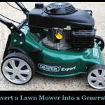 Convert a Lawn Mower into a Generator