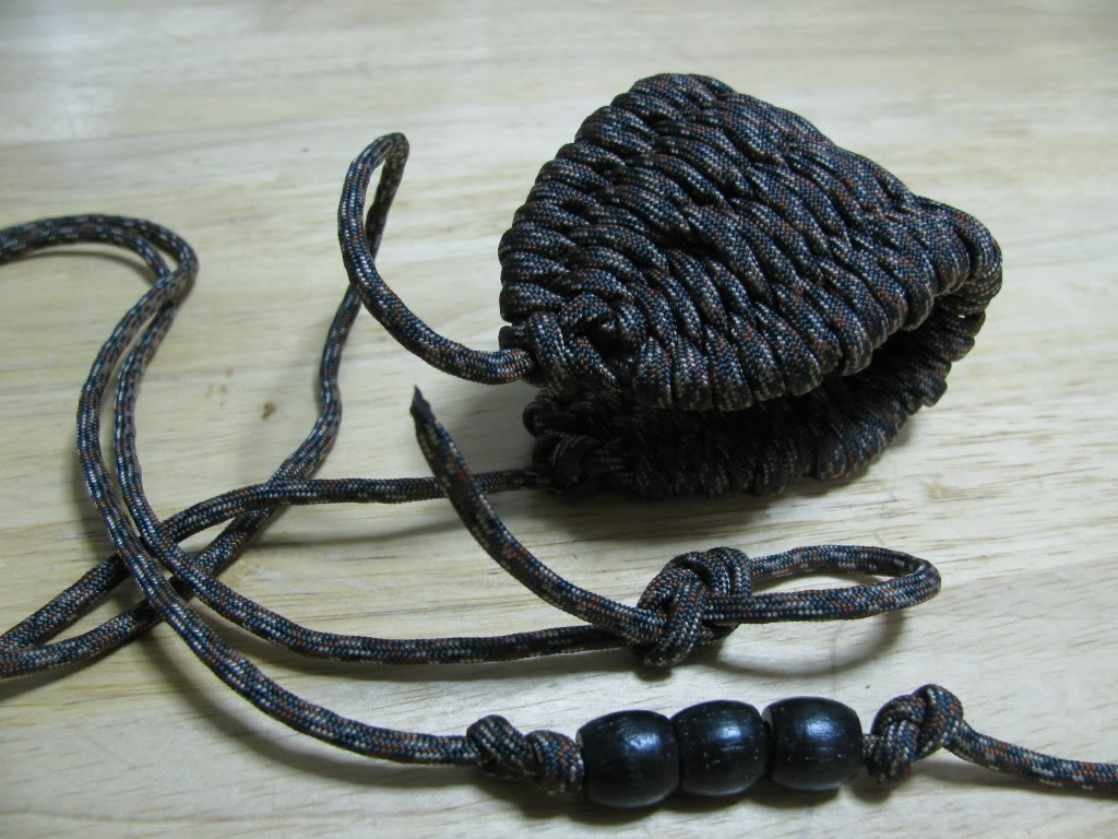 diy paracord rock sling the prepared page