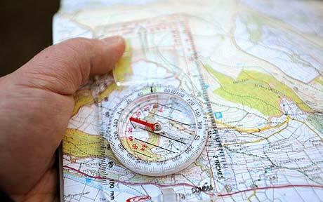 map reading skills the prepared page