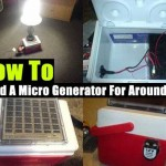 How To Build A Micro Generator For Around $90