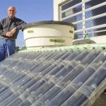 DIY Solar Water Heater From Plastic Bottles