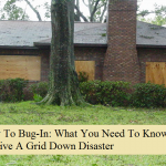 How To Bug-In: What You Need To Know To Survive A Grid Down Disaster