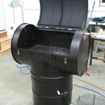DIY 55-gallon drum smoker