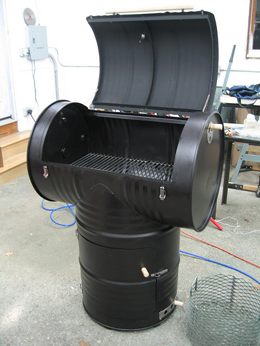 Diy Drum Smoker Amp Recipes The Prepared Page