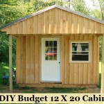 DIY Budget 12 X 20 Cabin