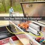 Turning Your Vehicle Into A Portable Generator
