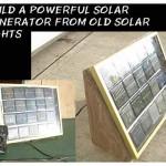 DIY Solar Generator From Old Solar Lights