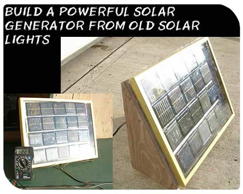 Diy Solar Generator From Old Solar Lights The Prepared Page