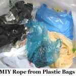 MIY Rope from Plastic Bags