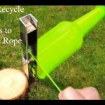 DIY Recycling Plastic Bottles to Plastic Rope