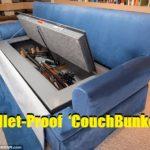 Bullet-Proof 'CouchBunker'