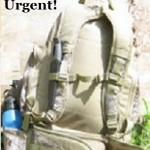 Why Your 72 Hour Bag is Urgent!