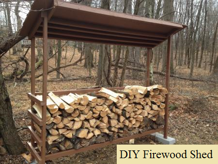 Diy firewood shed the prepared page for Cordwood house cost
