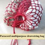 DIY Multipurpose Drawstring Paracord Bag