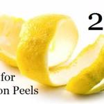 22 Uses for Lemon Peels