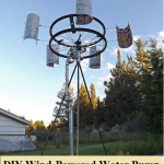 DIY Wind Powered Water Pump