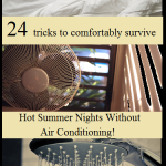 24 Tips For a Comfortable Hot Summer Night W/O A/C