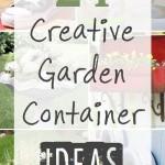 2 Dozen Creative Garden Containers