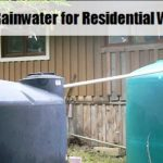 Harvesting Rainwater for Residential Water Security