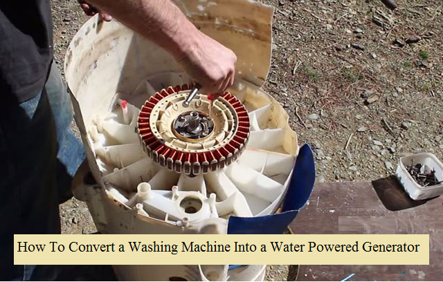 water powered machine