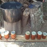Canning Using a Wood Fire