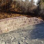 DIY Retaining Wall & Drainage