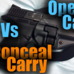 Open vs Concealed Carry