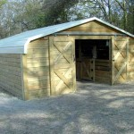 Convert a Carport into a Barn!