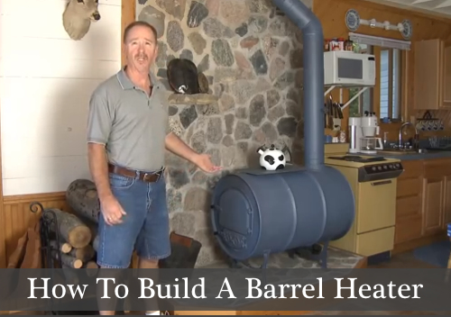 Diy Barrel Heater The Prepared Page