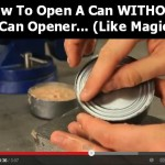 Opening Cans W/Out Can Opener