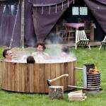 Off Grid Hot Tub