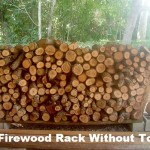 DIY Firewood Rack Without Tools