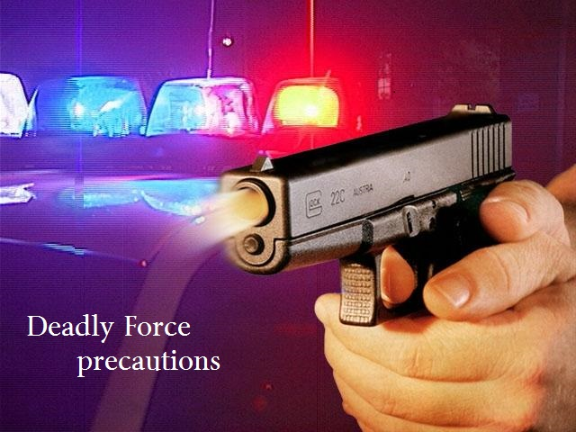 the use of deadly force If we can reach the point when suspects can be quickly incapacitated without being killed, that eliminates the need for deadly force there is no scenario.