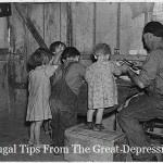 Frugal Tips From The Great Depression