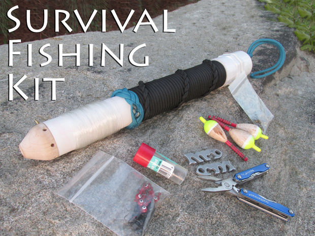 Diy survival fishing kit the prepared page for Survival fishing kit