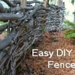 Easy DIY Fences