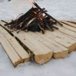 Building a Fire On Snow