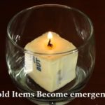 6 Household Items Become Emergency Candles